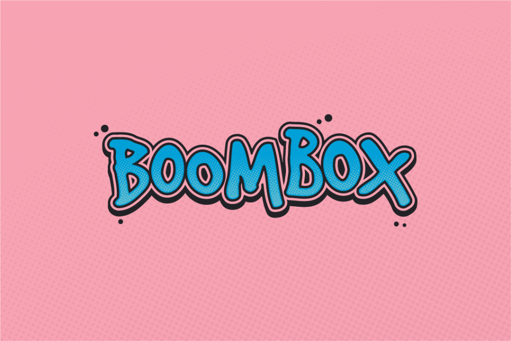 Lakota Boombox Logo